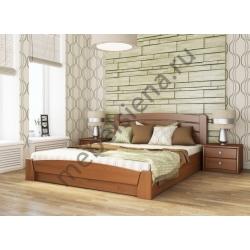 Двуспальная кровать Селена - гнутая