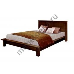 Односпальная кровать из массива сосны Ева