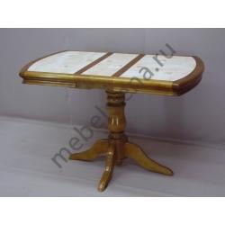 Деревянный стол 1 бал плитка 2