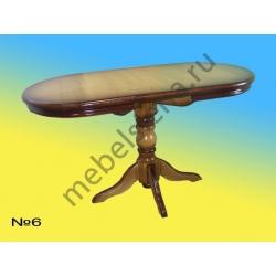 Деревянный стол 6 раскладной