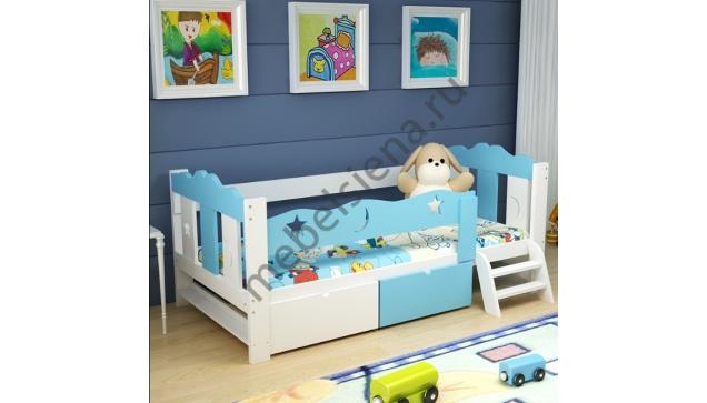 Детская деревянная кровать Фулия