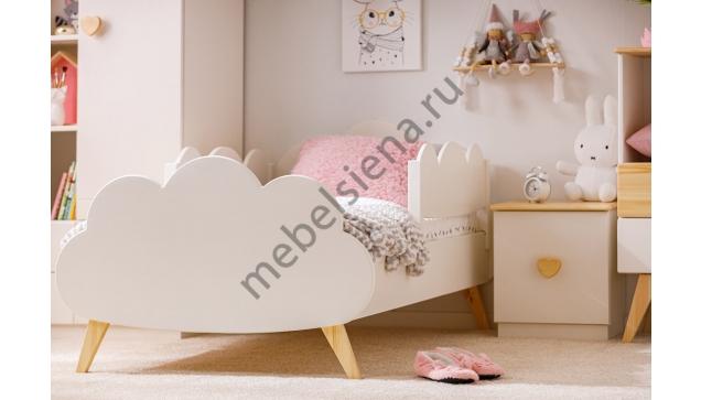 Детская деревянная кровать атланта