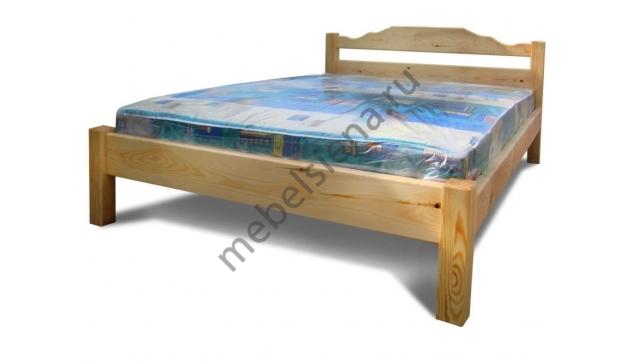 Двуспальная кровать Дачник