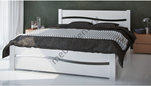 Односпальная кровать Волна