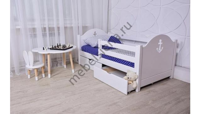 Детская деревянная кровать Авенти Якорь