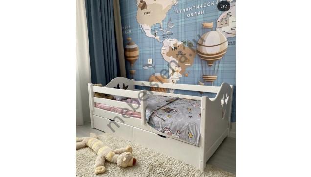 Детская деревянная кровать Авенти Бабочка