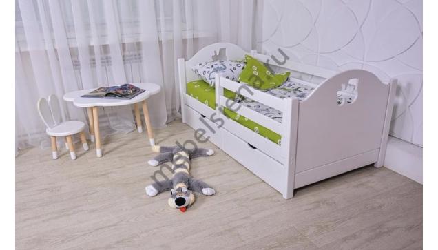 Детская деревянная кровать Авенти Вспыш
