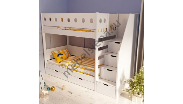 Двухъярусная кровать Дублин деревянная