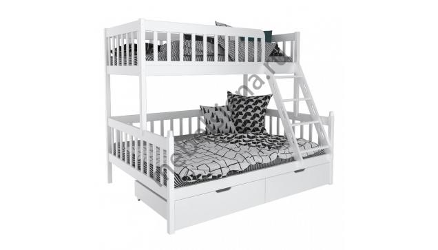 Двухъярусная кровать Фима деревянная