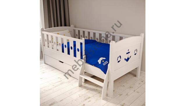Детская деревянная кровать Лика 4