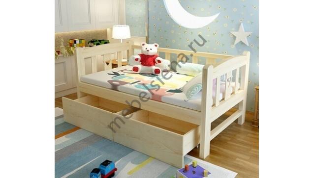 Детская деревянная кровать Соня