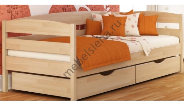 Детская деревянная кровать малютка