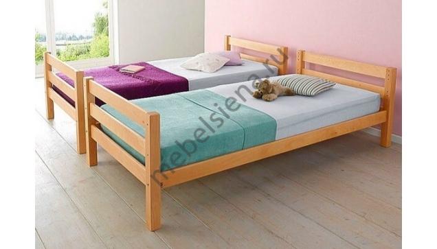 Детская деревянная кровать елена