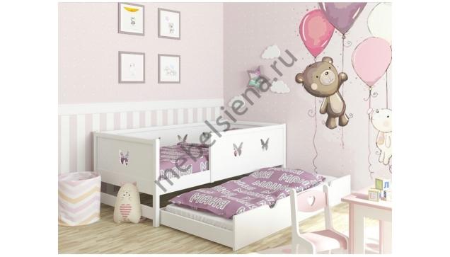 Детская деревянная кровать Маня