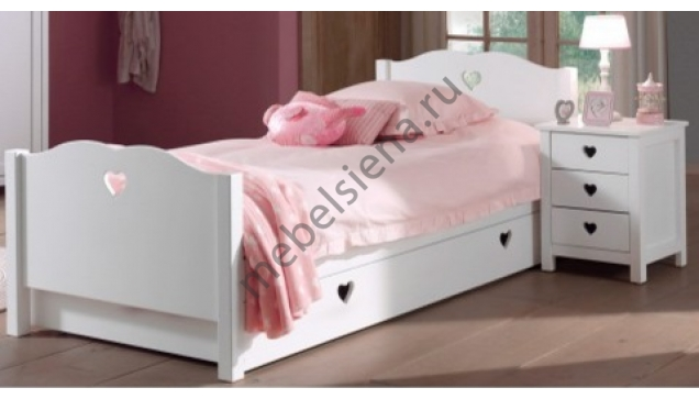 Детская деревянная кровать Милена