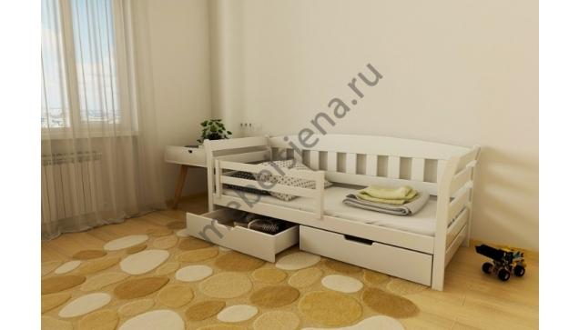 Детская деревянная кровать Тэди