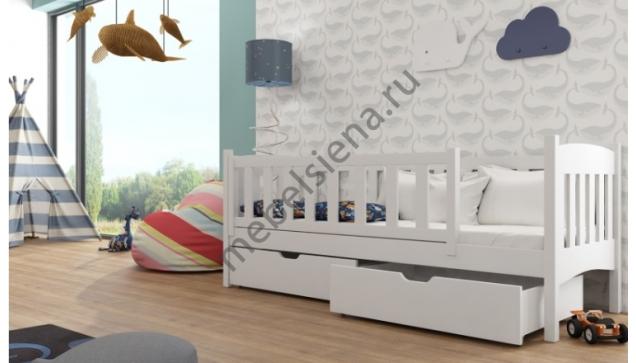 Детская деревянная кровать Амелия
