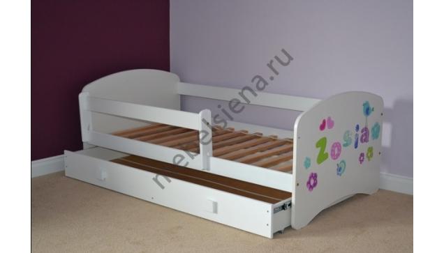 Детская деревянная кровать Зола