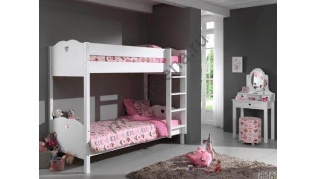 Деревянная двухъярусная кровать - Милена
