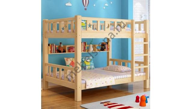 Двухъярусная кровать Лика2 деревянная
