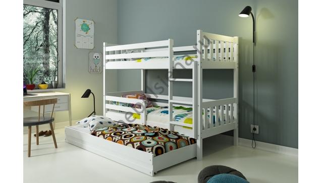 Деревянная двухъярусная кровать - Жанна