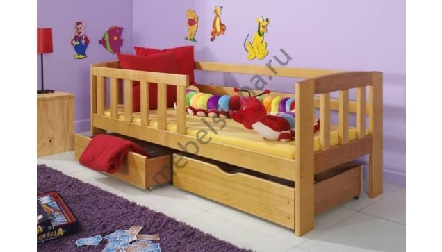 Детская деревянная кровать София