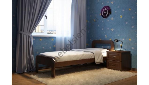Детская кровать из дерева Ольга
