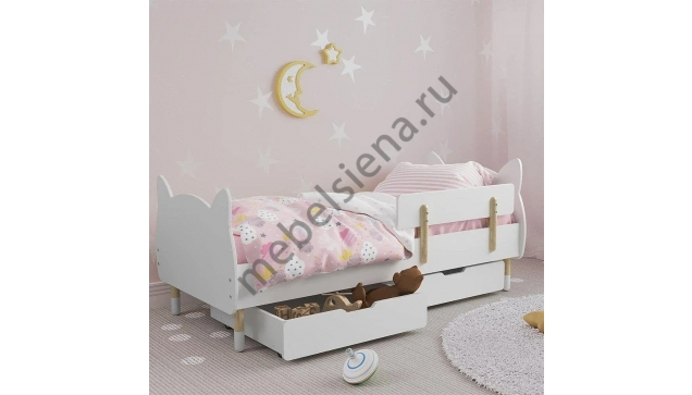 Детская деревянная кровать Мурка
