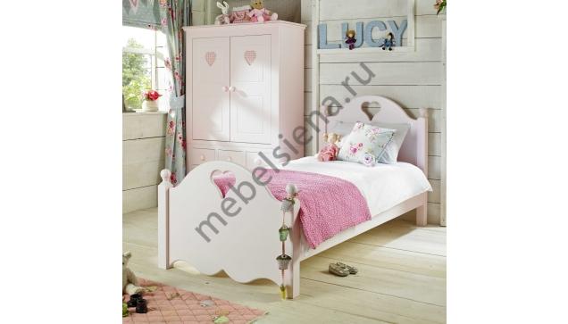Детская деревянная кровать Люба