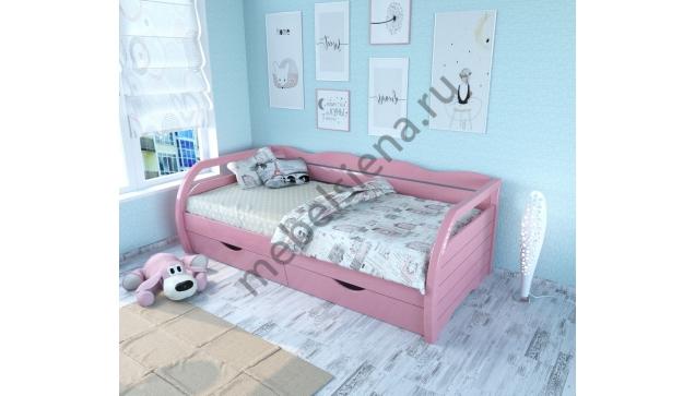 Детская деревянная кровать Торис 2