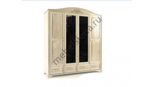 Шкаф 4-х створчатый Элит ш-195, в-220, г-58
