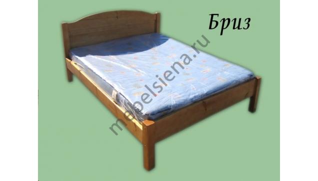 Двуспальная кровать Бриз