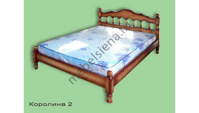 Двуспальная кровать Точенка