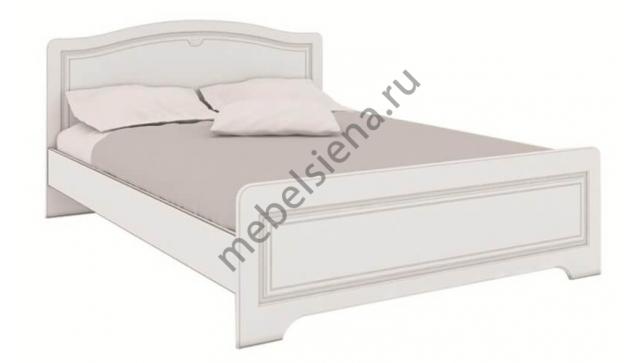 Двуспальная кровать белая Атланта