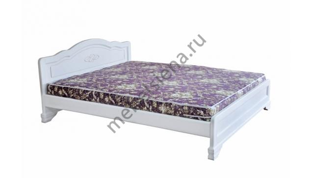 Кровать белая Сатори с подъёмным механизмом