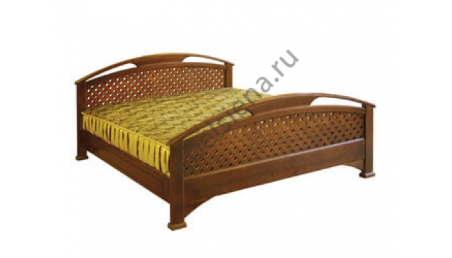Двуспальная кровать Омега сетка