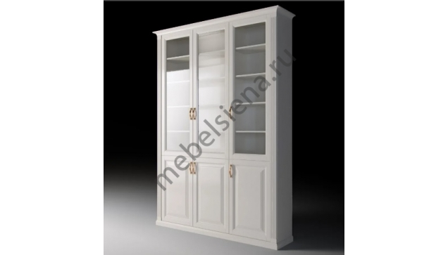 Шкаф Валенсия витрина из массива  ш-150, в-230, г-55