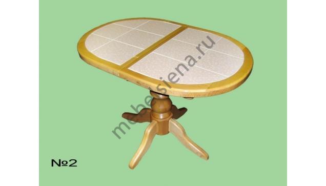 Деревянный кухонный стол 2